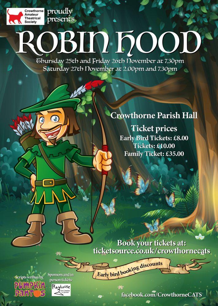 Robin Hood Play Cats Crowthorne